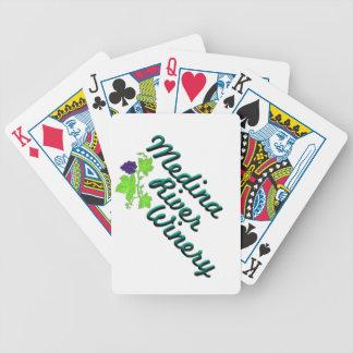 Medina flodkort spelkort