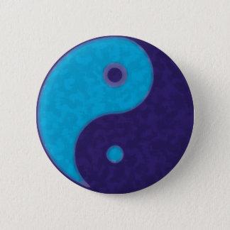 meditation tao för yinyang zen standard knapp rund 5.7 cm