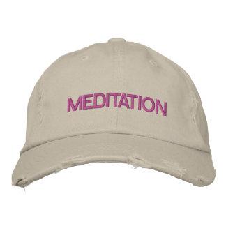 MEDITATIONlock Broderad Keps