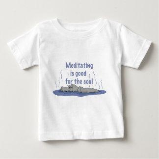 Meditera flodhäst tee shirts