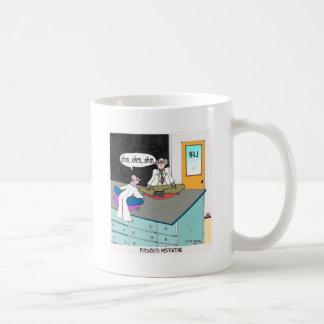 Meditera för fysiker kaffemugg