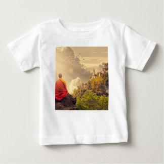 Meditera munken för stort tempel tröja