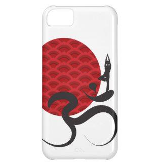 Mediterar den andliga indier för röd solYoga iPhone 5C Fodral