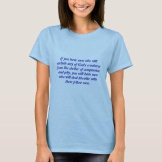 Medkänsla av manar t-shirt