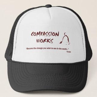 Medkänsla fungerar hatten keps