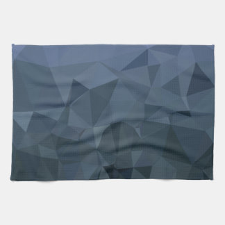 Medlet kritiserar abstrakt låg polygonbakgrund för kökshandduk
