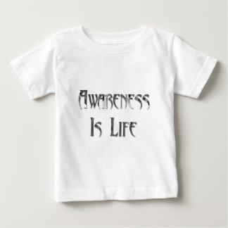 Medvetenheten är liv t shirts
