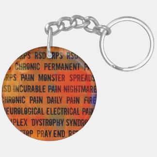 Medvetenhetnyckelring för RSD CRPS