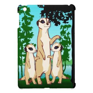 Meerkat familj iPad mini mobil skydd