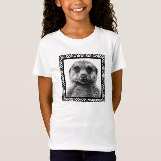 Meerkat flickababy - dockaT-tröja Tee Shirt