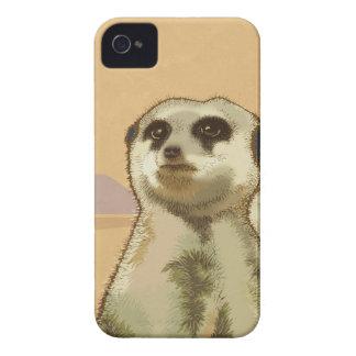Meerkat iPhone 4 Case-Mate Skydd