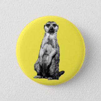 Meerkat Standard Knapp Rund 5.7 Cm