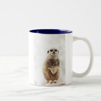 meerkat Två-Tonad mugg