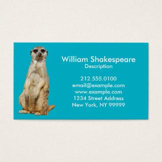 Meerkat Visitkort