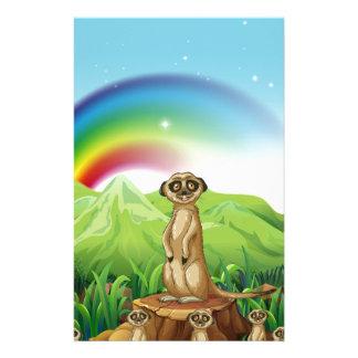 Meerkats Brevpapper