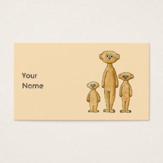 Meerkats. Visitkort