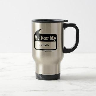 MeForMy Darkside reser kaffemuggen Rostfritt Stål Resemugg
