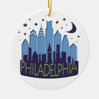 Mega coola för Philly horisont Julgransprydnad Keramik