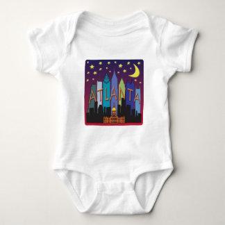 Mega färg för Atlanta horisont T Shirts