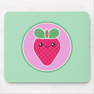 Mega Kawaii söt jordgubbe Musmatta