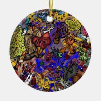 Mega magizon julgransprydnad keramik