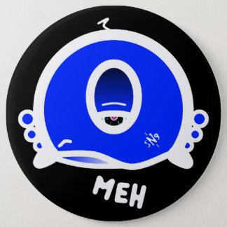 Meh (& den kalla rundasaken med ett öga) jumbo knapp rund 15.2 cm