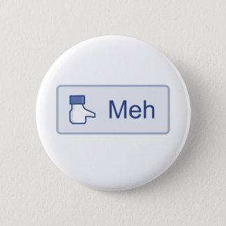 Meh - Facebook Standard Knapp Rund 5.7 Cm