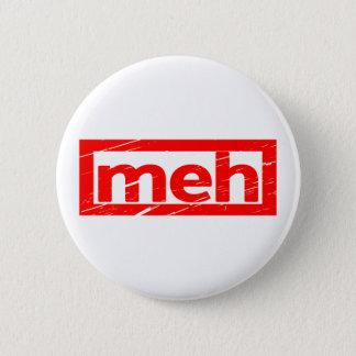 Meh frimärke standard knapp rund 5.7 cm