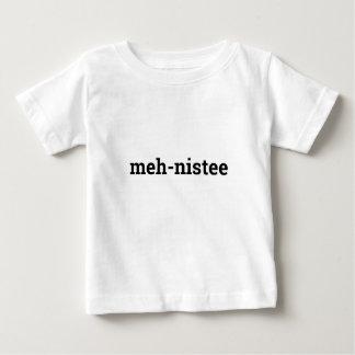 meh-nisteespädbarnskjorta t-shirt