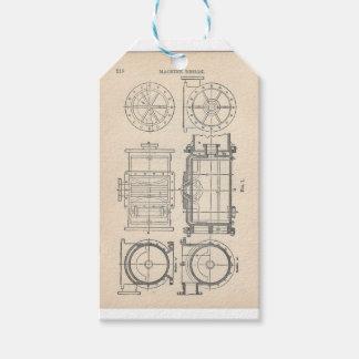 Mekaniker Pocletbook Presentetikett