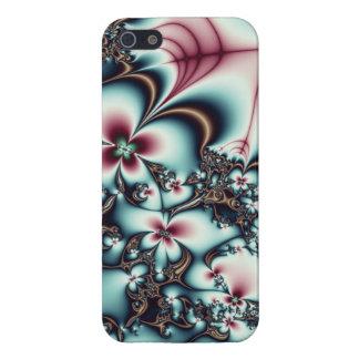 Mekanisk blommaFractal iPhone 5 Hud