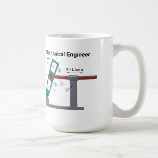Mekanisk ingenjörmugg kaffemugg