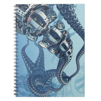 Mekanisk Kraken anteckningsbok