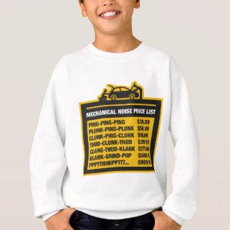 Mekaniskt stoja priset listar t-shirts