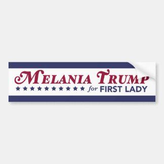 Melania trumf för den första damen Donald Trump Bildekal