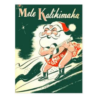 Mele Kalikimaka A mycket god julvykort Vykort