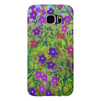 Mellanvästern- fodral för vildblommaSamsung galax Samsung Galaxy S6 Fodral