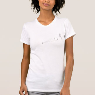 Melodi noterar t-shirt