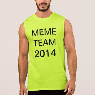 memelag 2014 ärmlös t-shirt