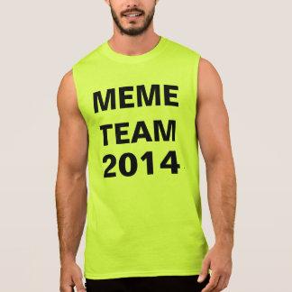 memelag 2014b t-shirts utan ärmar