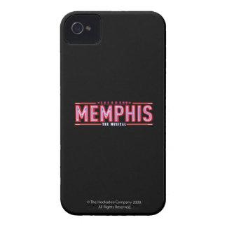 MEMPHIS - den musikaliska logotypen iPhone 4 Skal