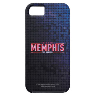 MEMPHIS - den musikaliska logotypen iPhone 5 Cases
