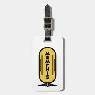 Memphis - egyptisk etikett för cartouchestilbagage bagagebricka