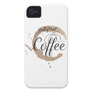 Men först, kaffe… iPhone 4 Case-Mate skydd