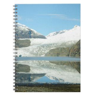 Mendenhall glaciär anteckningsbok