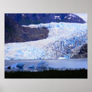 Mendenhall glaciär poster