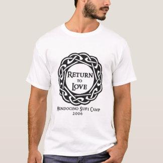 Mendocino Sufi lägerT-tröja 2006 Tee Shirts