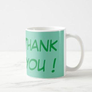 Meningsfullt tack - som är enkelt Yet Kaffemugg