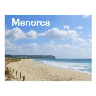 Menorca SonBou strand Vykort