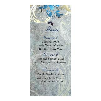 meny för bröllop för blåttlövvinter